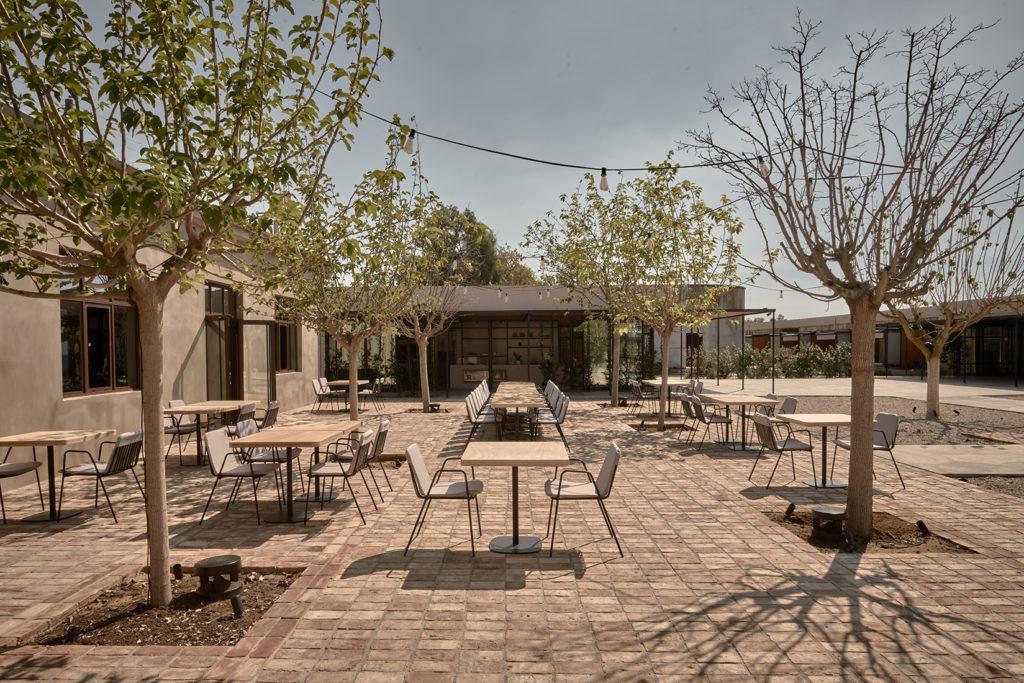dexamenes restaurant food drink Peloponnese mulberry trees